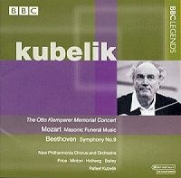 Beethoven 9th by Kubelik - In memoriam Otto Klemperer
