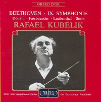 Beethoven 9th by Kubelik - Orfeo
