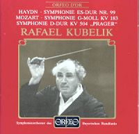 Haydn and Mozart by Kubelik - Orfeo